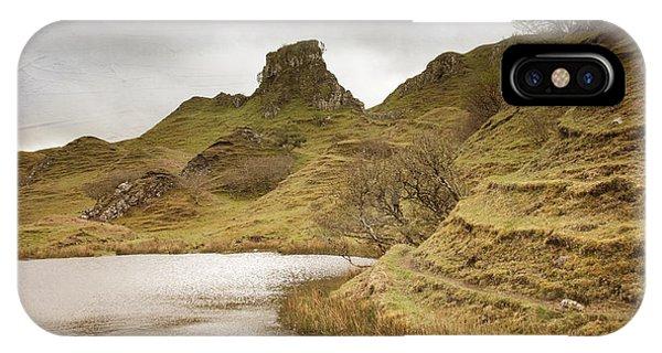 Fairy Glen iPhone Case - Scottish Landscape by Juli Scalzi