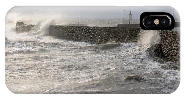 Scottish Sea Storm IPhone Case