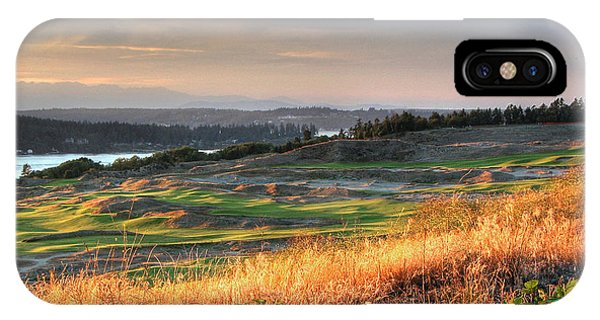 Scottish Style Links In September - Chambers Bay Golf Course IPhone Case