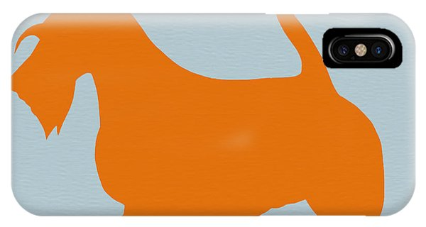 Scottish Terrier Orange IPhone Case