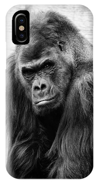Scowling Gorilla IPhone Case