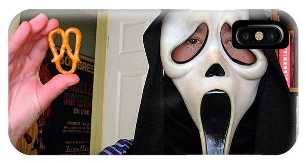 Scream And The Scream Pretzel IPhone Case