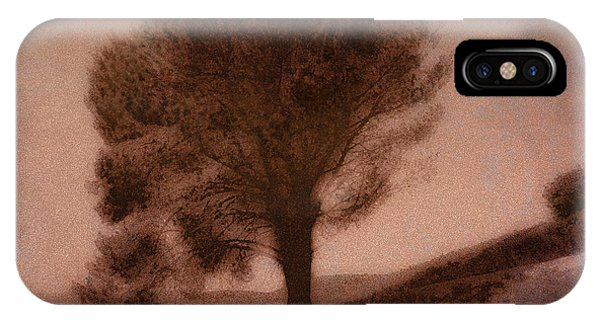 Digital Effect iPhone Case - Screaming Tree by Peter Awax