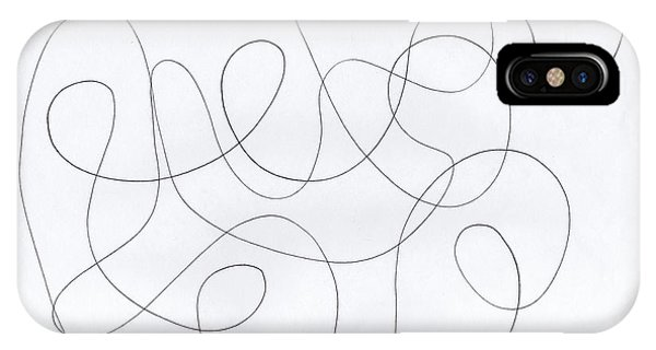 Scribble For 'banana Split' IPhone Case