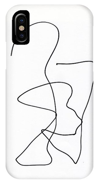 Scribble For Ghost And Child IPhone Case