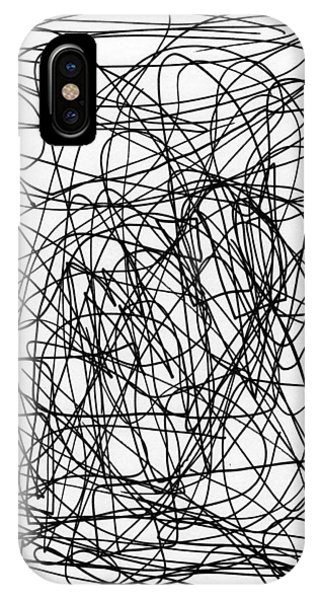 Scribble For M.l.b. Here I Come IPhone Case