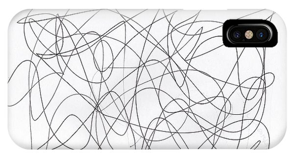 Scribble For 'running Errands' IPhone Case