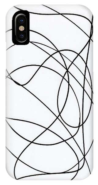Scribble For Up On The Hill At Barton Springs IPhone Case