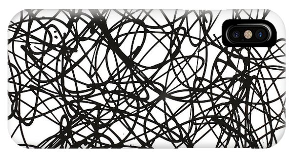 Abstract For Ya'll Make Some Room On This Dance Floor For Miss Debbie IPhone Case