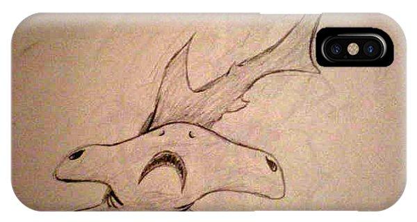 Scribble Shark Phone Case by Steve Spagnola