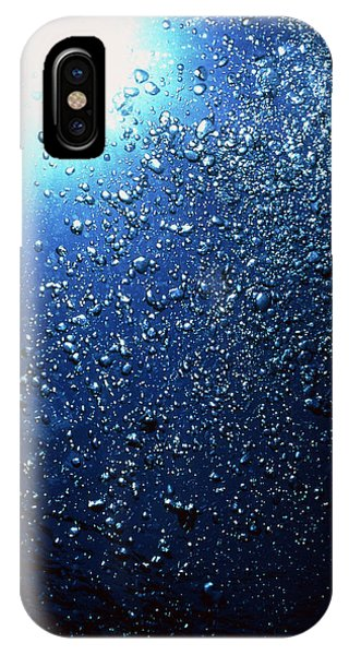 Scuba Diving iPhone Case - Scuba Bubbles by Matthew Oldfield/science Photo Library