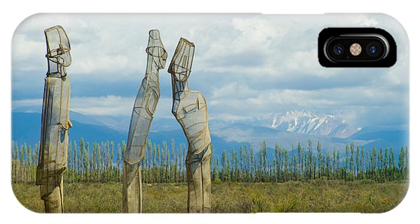 Sculpture In The Andes IPhone Case