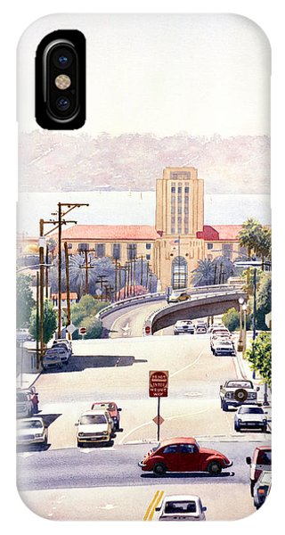 Sd County Administration Building IPhone Case