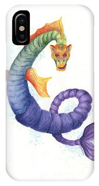 Sea Dragon Phone Case by Kathleen Keller