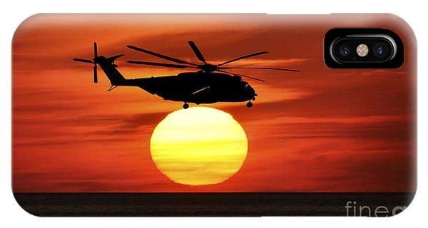 Sea Dragon Sunset IPhone Case