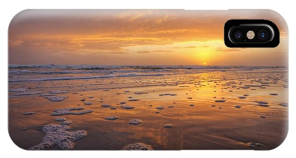 Sea Foam Sunrise Phone Case by Danny Mongosa