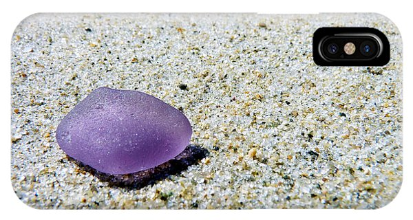 Sea Glass In Amethyst IPhone Case