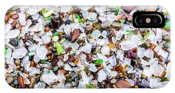 Sea Glass Treasures At Glass Beach IPhone Case