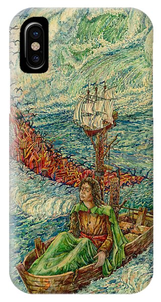 Sea Journey IPhone Case