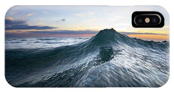 Water Ocean iPhone Case - Sea Mountain by Sean Davey