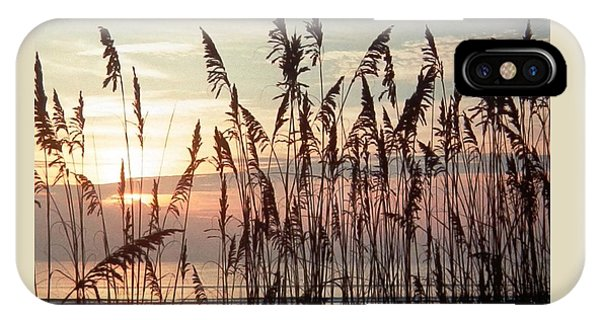 Fabulous Blue Sea Oats Sunrise IPhone Case