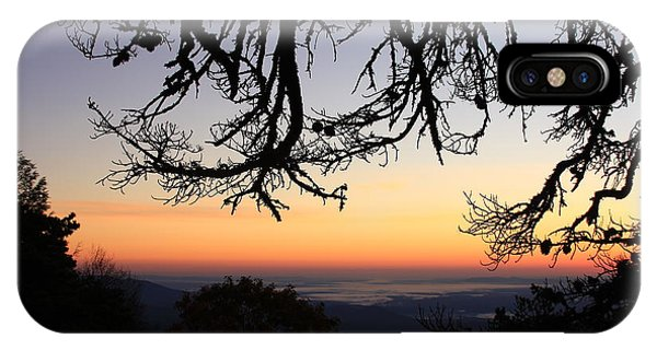 Sea Of Clouds On The Blue Ridge IPhone Case