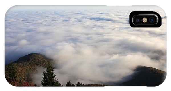 Sea Of Clouds On The Blue Ridge Parkway IPhone Case