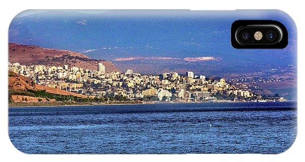 Sea Of Galilee Israel Tiberias IPhone Case
