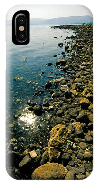 Sea Of Galilee Shore IPhone Case