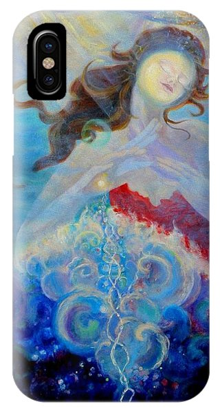 Sea Of The Soul Figure Detail IPhone Case