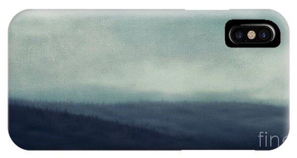 Treeline iPhone Case - Sea Of Trees And Hills by Priska Wettstein