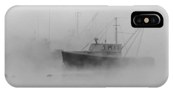 Sea Smoke Jonesport Maine  IPhone Case