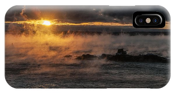 Sea Smoke Sunrise IPhone Case