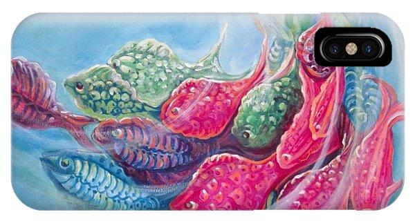 Sea Swirls IPhone Case
