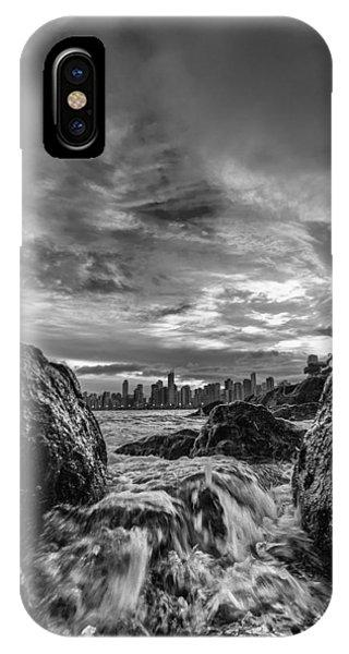Sea Water Between Rocks IPhone Case