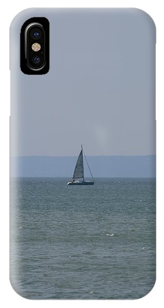 Sea Yacht  Land Sky IPhone Case