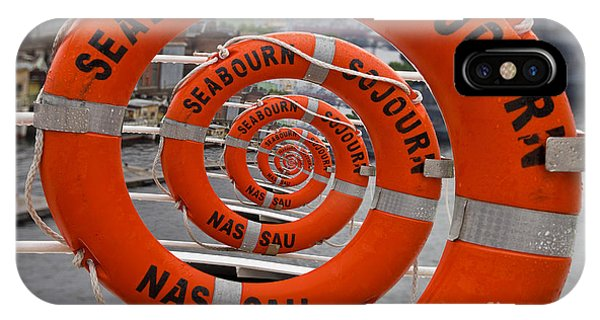 Seabourn Sojourn Spiral. IPhone Case