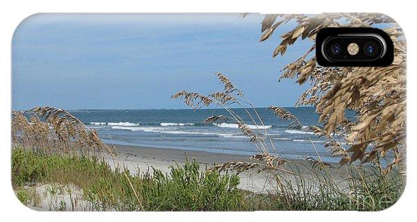Seabrook Sc Beach IPhone Case