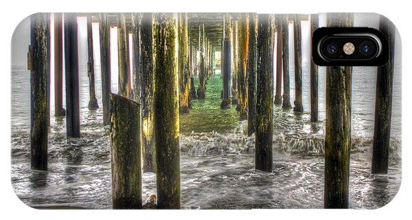 Seacliff Pier IPhone Case