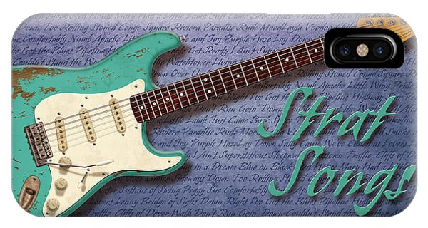 Seafoam Strat Songs  IPhone Case
