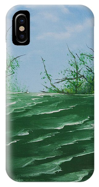 Seafoam Surf IPhone Case