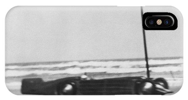 Seagrave's Golden Arrow Car IPhone Case