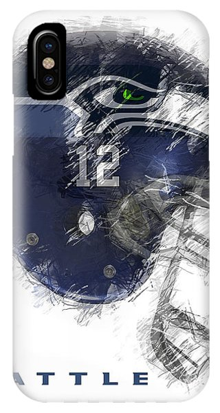 Seahawks 12 IPhone Case