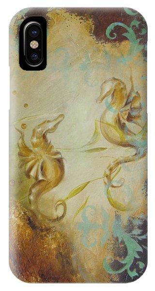 Seahorse Dream 1 IPhone Case