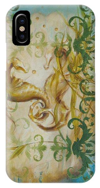 Seahorse Dream 2 IPhone Case