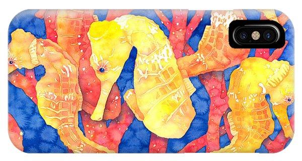 Seahorse Heaven IPhone Case