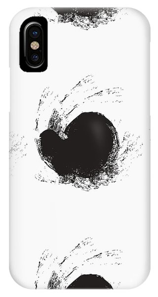 Cover iPhone Case - Seamless Background Pattern, With by Tetiana Yurchenko
