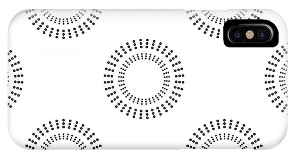 Cover iPhone Case - Seamless Pattern With Circles. Vector by Brumarina
