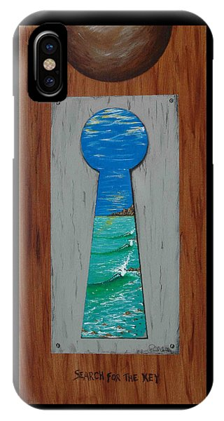 Search For The Key IPhone Case