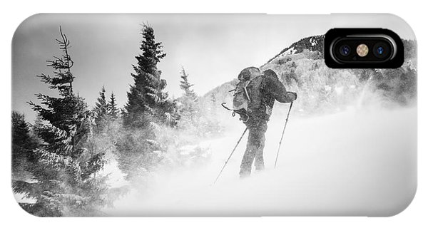 Men iPhone Case - Searching For A Path by Lubos Balazovic